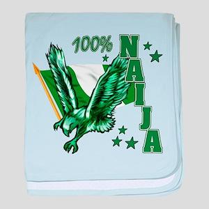 100% Naija baby blanket
