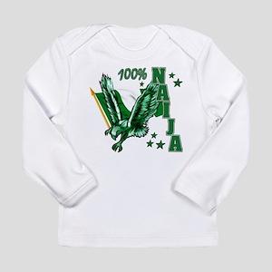 100% Nigerian Long Sleeve T-Shirt