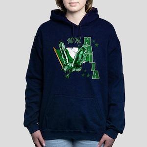 100% Naija Women's Hooded Sweatshirt