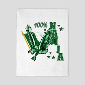 100% Naija Twin Duvet