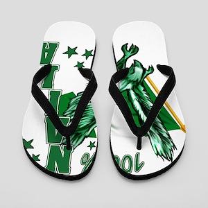 100% Naija Flip Flops