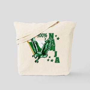 100% Naija Tote Bag
