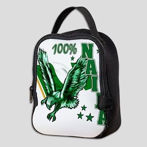 100% Naija Neoprene Lunch Bag