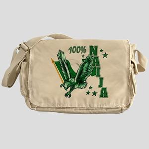 100% Naija Messenger Bag