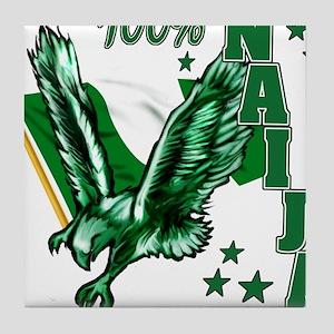 100% Naija Tile Coaster