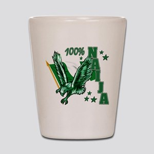 100% Naija Shot Glass