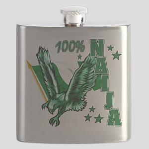 100% Naija Flask