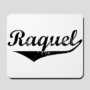 Raquel Vintage (Black) Mousepad