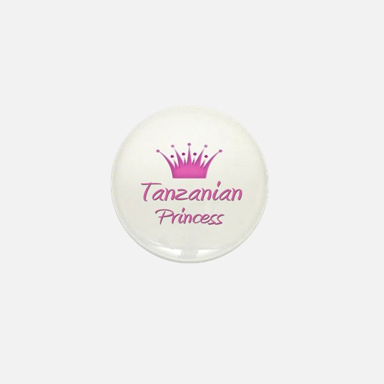 Tanzanian Princess Mini Button