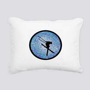 SKI Rectangular Canvas Pillow