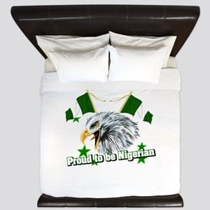 Proud to be Nigerian King Duvet