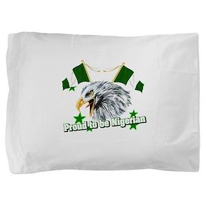 Proud to be Nigerian Pillow Sham