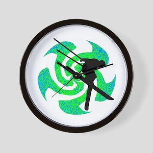 SKI Wall Clock