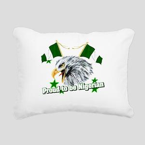 Proud to be Nigerian Rectangular Canvas Pillow