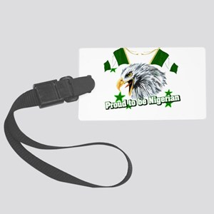 Proud to be Nigerian Large Luggage Tag