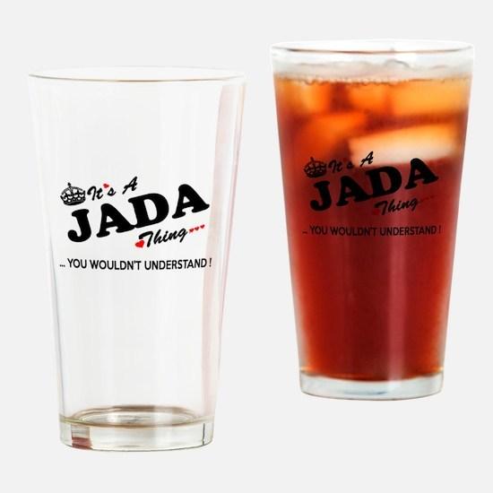 Cute Jada Drinking Glass