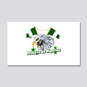 Proud to be Nigerian Car Magnet 20 x 12