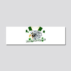 Proud to be Nigerian Car Magnet 10 x 3