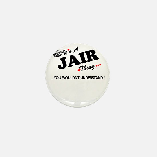 Cute Jair Mini Button