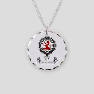 Badge - Farquharson Necklace Circle Charm