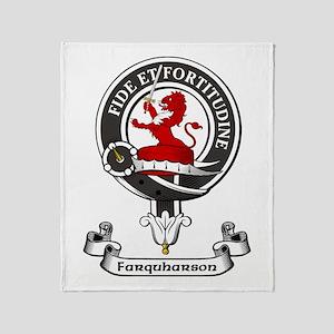 Badge - Farquharson Throw Blanket
