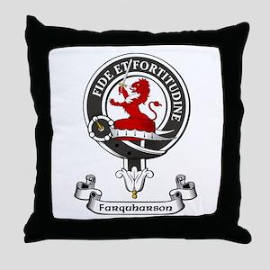 Badge - Farquharson Throw Pillow
