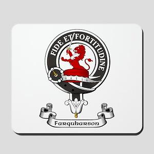 Badge - Farquharson Mousepad