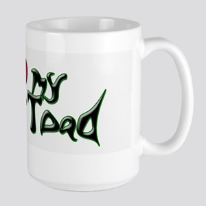 I Love My Horny Toad Large Mug