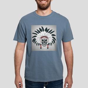 Indian Skull Mens Comfort Colors Shirt