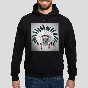 Indian Skull Hoodie (dark)
