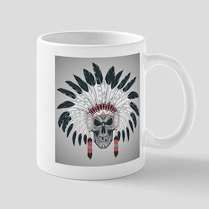 Indian Skull 11 oz Ceramic Mug