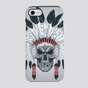 Indian Skull iPhone 8/7 Tough Case