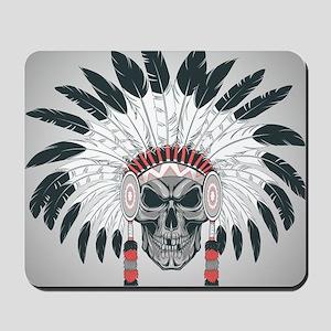 Indian Skull Mousepad
