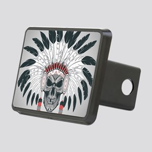 Indian Skull Rectangular Hitch Cover