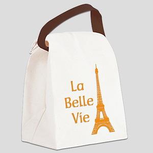 La Belle Vie Canvas Lunch Bag
