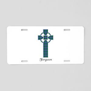 Cross - Ferguson Aluminum License Plate