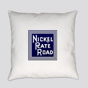 Nickel Plate Railroad logo Everyday Pillow