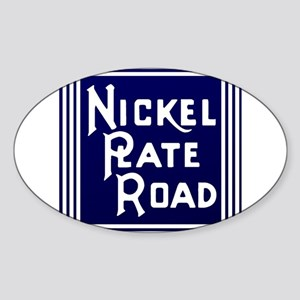 Nickel Plate Railroad logo Sticker