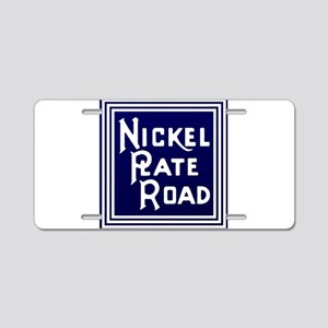 Nickel Plate Railroad logo Aluminum License Plate