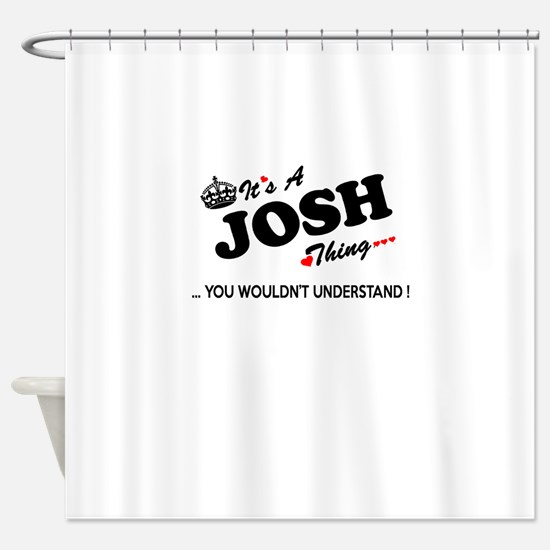 Unique Josh Shower Curtain