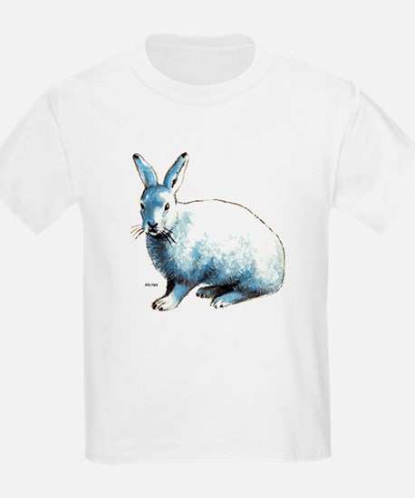 Artic Hare (Front) Kids T-Shirt