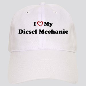 I Love My Diesel Mechanic Cap