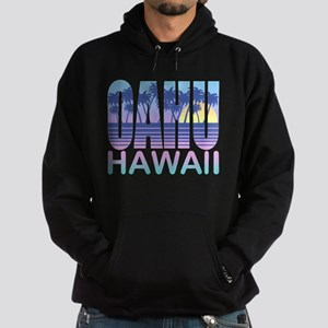 Oahu Hawaii Hoodie (dark)