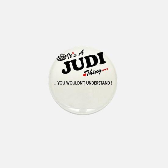 Unique Judi Mini Button