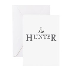 I AM HUNTER Greeting Cards (Pk of 20)