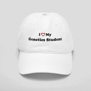 I Love My Genetics Student Cap