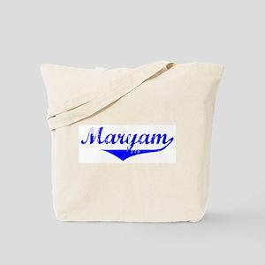 Maryam Vintage (Blue) Tote Bag