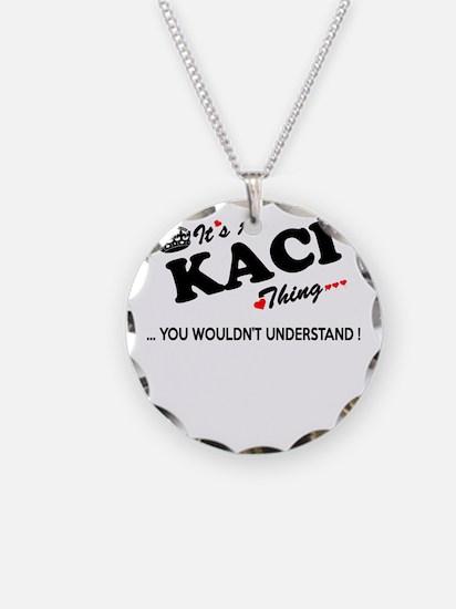 Funny Kaci Necklace