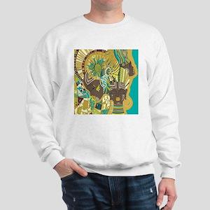 African Woman Sweatshirt