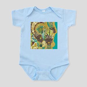 African Woman Infant Bodysuit